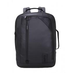 ARCTIC HUNTER τσάντα πλάτης 1500346-BK με θήκη laptop, αδιάβροχη, μαύρη