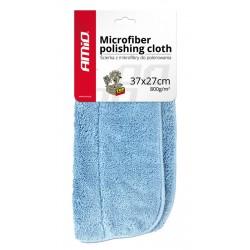 AMIO Απορροφητική πετσέτα μικροϊνών 37x27 AMIO-01620, 800γρ/m2, μπλε