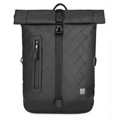ARCTIC HUNTER τσάντα πλάτης B-00283-RMB με θήκη laptop, αδιάβροχη, μαύρη