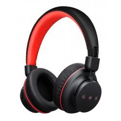 MPOW bluetooth headphones Η1 BMBH142BR, με μικρόφωνο, μαύρο-κόκκινο