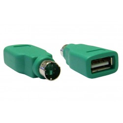 POWERTECH Adapter USB 2.0 σε PS2 male
