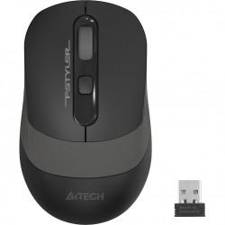 A4TECH ασύρματο ποντίκι FG10 Fstyler series, 2000DPI, 4 πλήκτρα, μαύρο