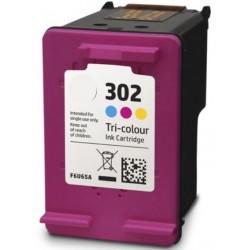 Συμβατό Inkjet για HP 302XL, Color