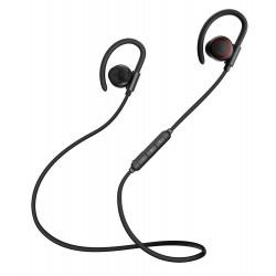BASEUS bluetooth earphones ENCOK S17, με μαγνήτη, αδιάβροχα, μαύρα