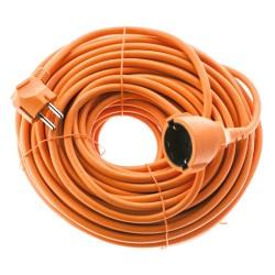 EMOS Μπαλαντέζα schuko P01240R, PVC, 16A, 40m, πορτοκαλί