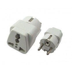 POWERTECH adapter German type σε universal PT-349, CCA