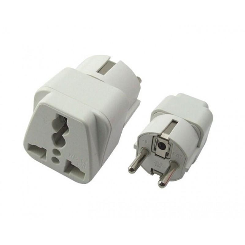 POWERTECH adapter German type σε universal PT-349, CCA