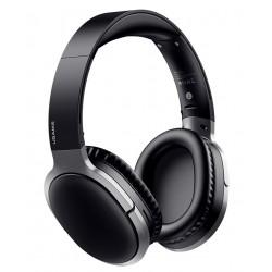 USAMS bluetooth headphones US-YN001, wireless & wired, 40mm, μαύρα