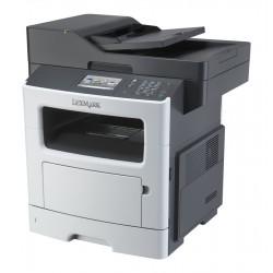 LEXMARK used MFP Printer MX510DE, Laser, Mono, low toner & drum