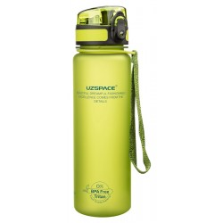 UZSPACE παγούρι νερού Colorful Frosted UZ-3026-GN, 500ml, πράσινο