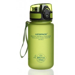 UZSPACE παγούρι νερού Colorful Frosted UZ-3034-GN, 350ml, πράσινο