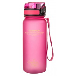 UZSPACE παγούρι νερού Colorful Frosted UZ-3037-PK, 650ml, ροζ