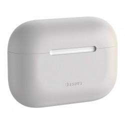BASEUS θήκη σιλικόνης WIAPPOD-ABZ0G για Apple Airpods Pro, γκρι
