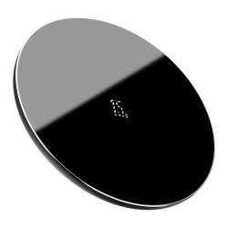 BASEUS ασύρματος φορτιστής Simple WXJK-B01, USB Type-C, 15W, μαύρος