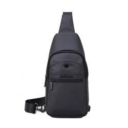 ARCTIC HUNTER τσάντα Crossbody XB13001-BK, αδιάβροχη, μαύρη
